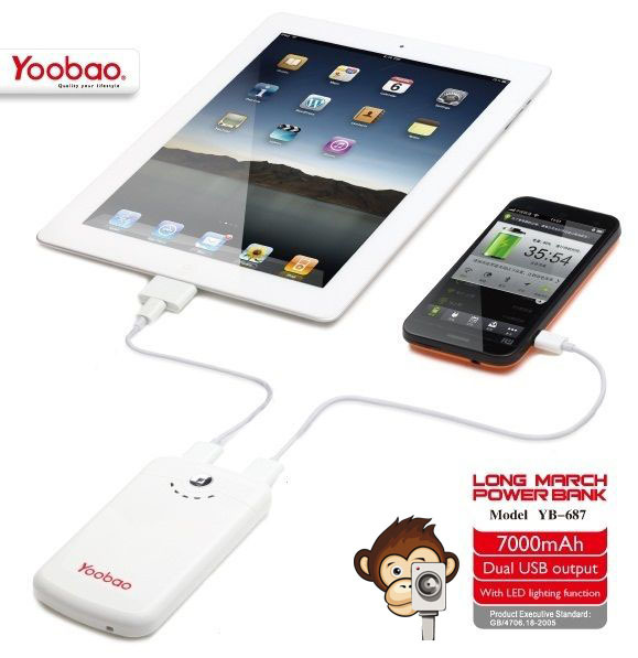 Power Bank Yoobao 7000mAh Long March YB-687-6