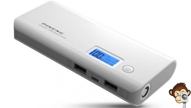 Power Bank Pineng 10000 mAh PN-968G-5