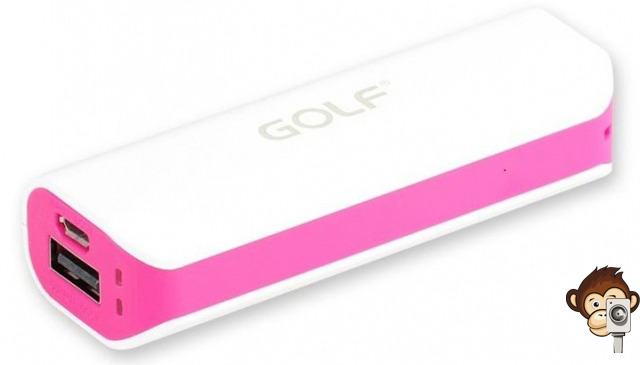 Power Bank GF-801 2600 mAh-7