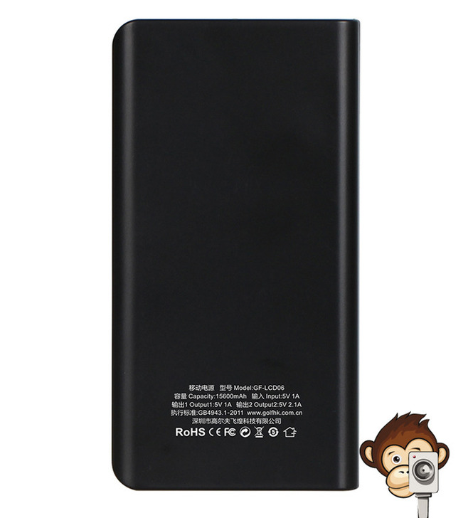 Power Bank GF-LCD06 Golf 15600 mAh-6