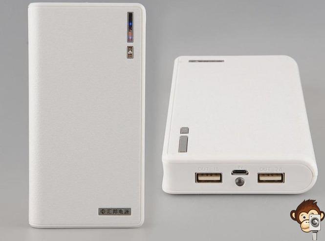 Портативный внешний аккумулятор Power bank 20000 mAh-11